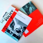 Разработка брошюры в черно-красных тонах