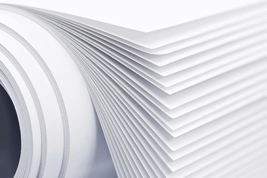 Белая бумага для печати брошюр