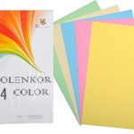 бумага для бланков в пастельных тонах