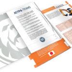 Брендовый дизайн брошюры