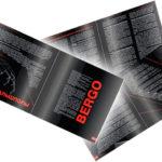 Черно-красный дизайн брошюры
