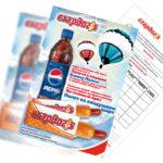 Дизайн листовки ресторан быстрого питания