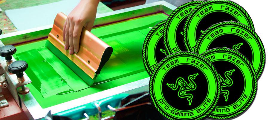 печать на магнитном виниле шелкографией