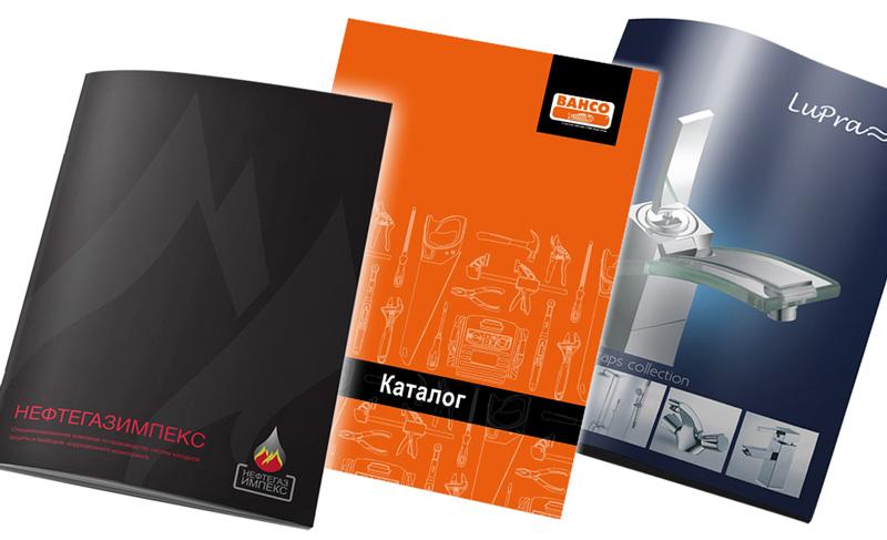 Дизайн обложки каталога