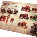 Изготовление каталога кофейной продукции