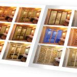 Производство каталога стеклянных дверей