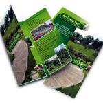 Дизайн лифлета для ландшафтного дизайна