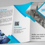 Дизайн бизнес лифлета