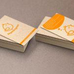 Изготовление визиток на крафте