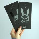 Оформление открытки на тачкавере