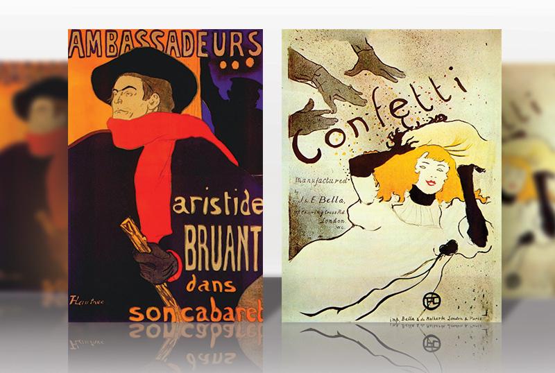 Плакаты Анри де Тулуз-Лотрек