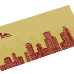 Разработка открытки для строительной организации