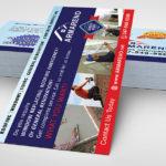 Дизайн флаера, услуги по ремонту домов